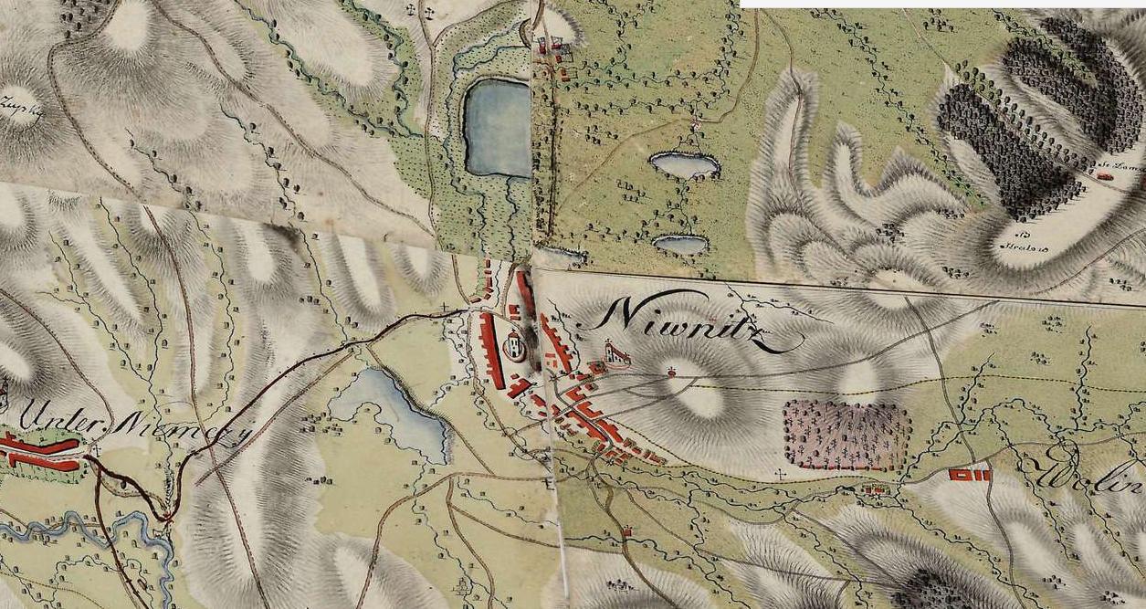 I. vojenské mapování 1764-1768