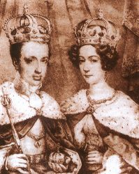 Ferdinand V. a Marie Anna Savojská