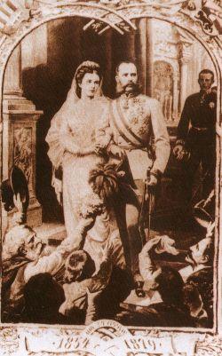 František Josef I. a Sissi