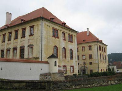 zámek Kunštát r. 2010